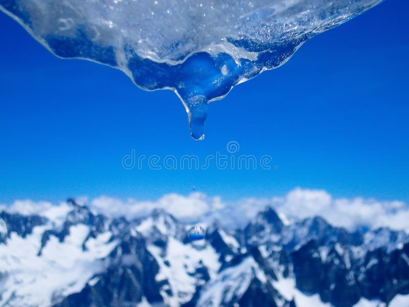 Ice Blue royalty free stock images