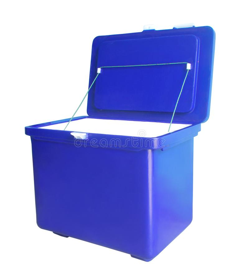 Free Ice Box. With Clipping Paths. Royalty Free Stock Images - 139334139
