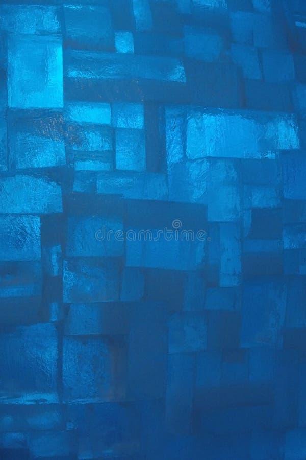 Ice bricks wall. stock photography
