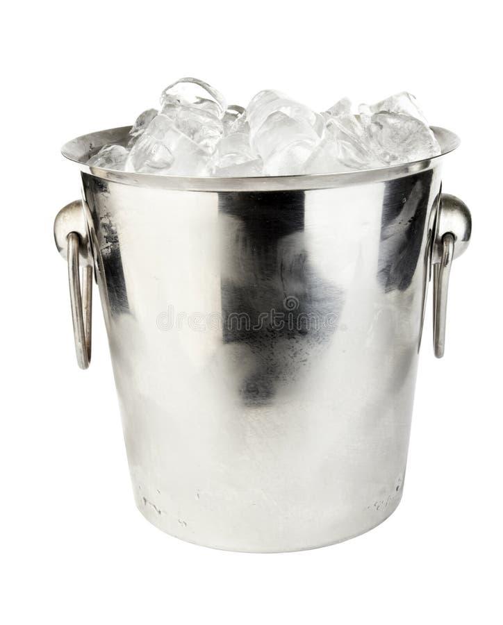 Ice bucket stock photography