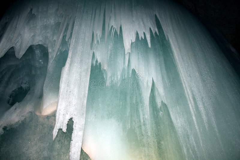 Ice Caves Royalty Free Stock Images