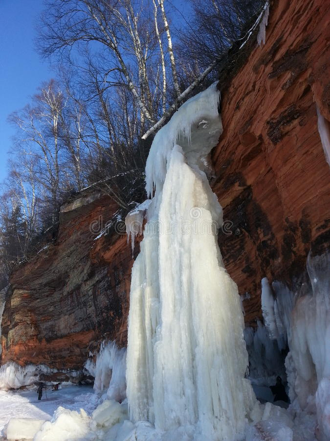 Ice Caves stock photography