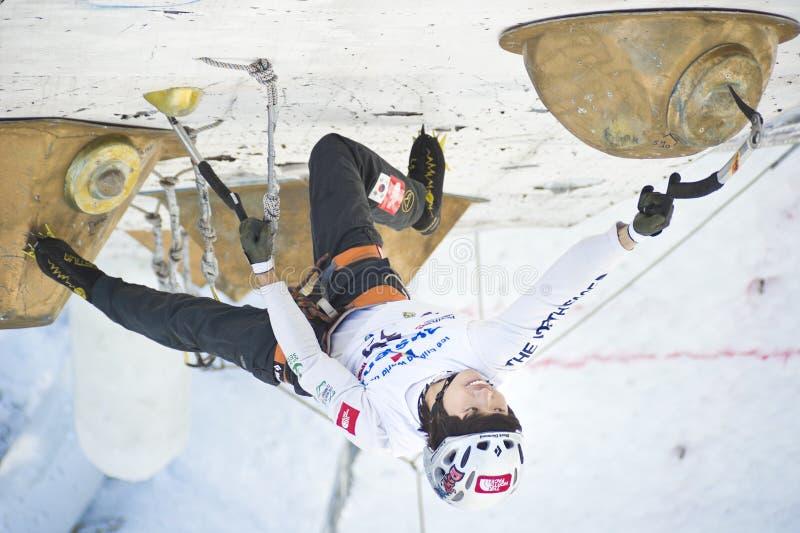 Ice Climbing World Championship 2011 Editorial Photography