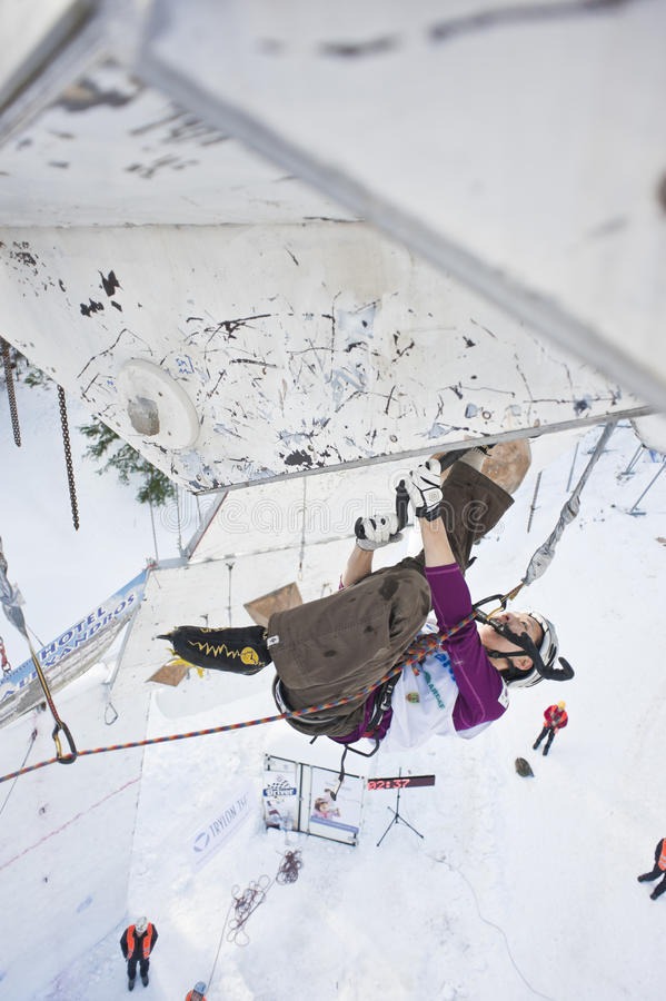 Download Ice Climbing World Championship 2011 Editorial Stock Photo - Image: 18228058