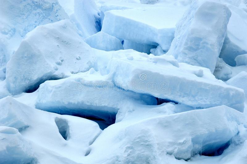Ice cluster stock photo