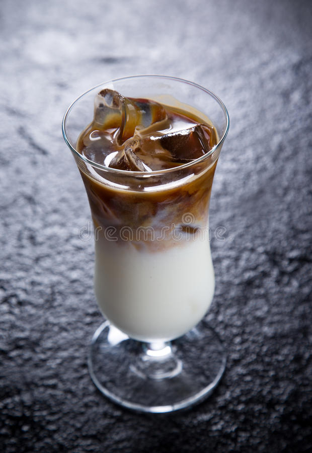 Ice Coffee cup stock images