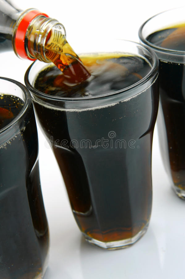 Free Ice Cold Cola Royalty Free Stock Photography - 10421387