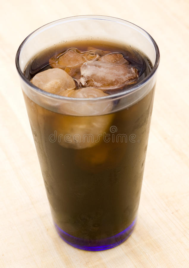 Ice Cold Cola Drink Royalty Free Stock Photography