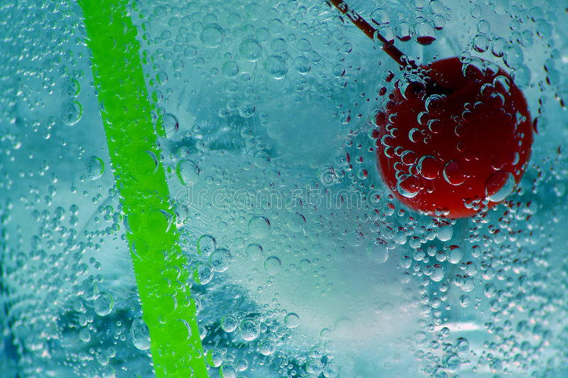 Ice Cold Drink royalty free stock photos