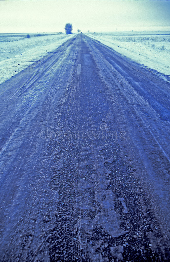 Download Ice Covered Road Stock Images - Image: 5140634