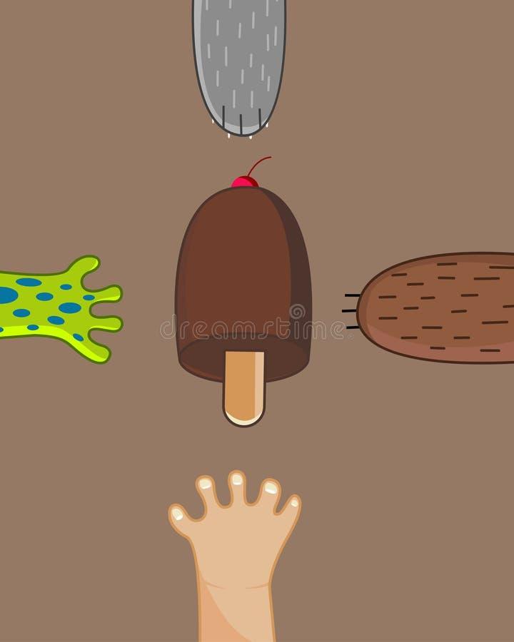 Ice-cream stock photography