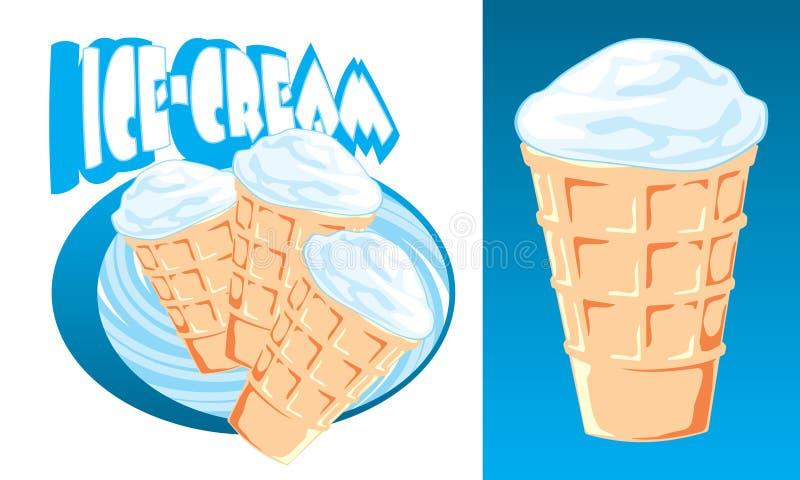 Ice-cream stock illustration