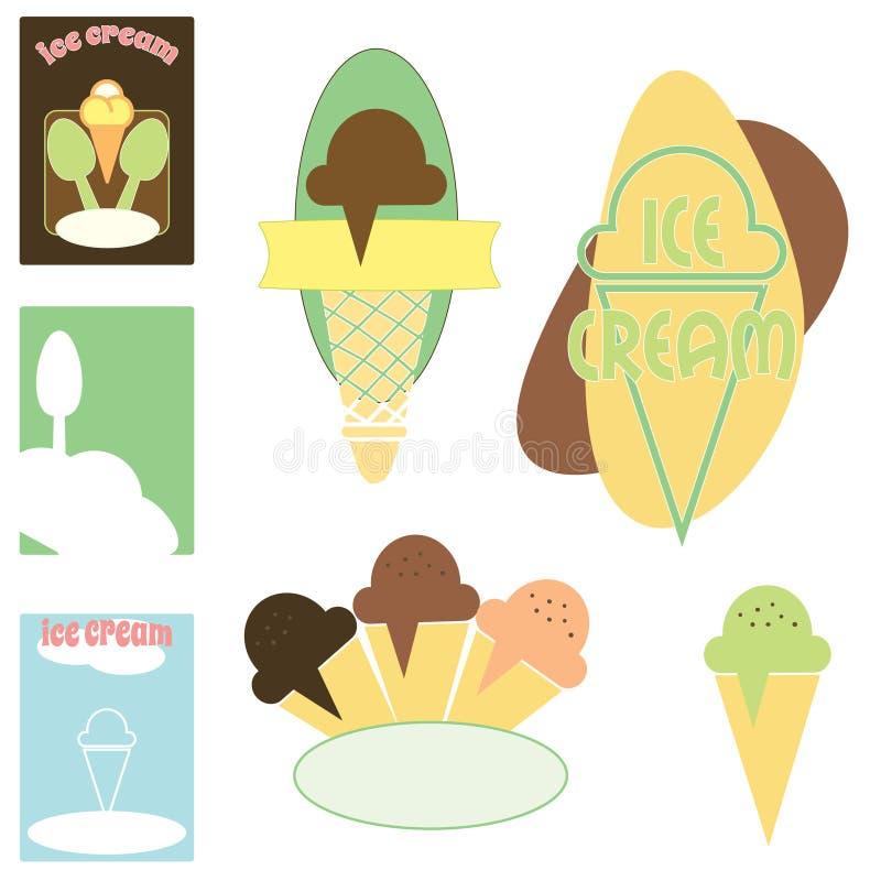 Download Ice cream stock vector. Image of raster, banner, cartoony - 23427290