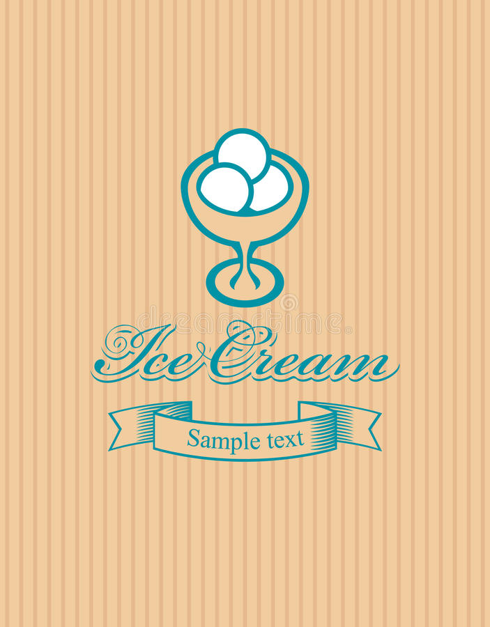Download Ice cream stock vector. Illustration of banner, image - 23640661