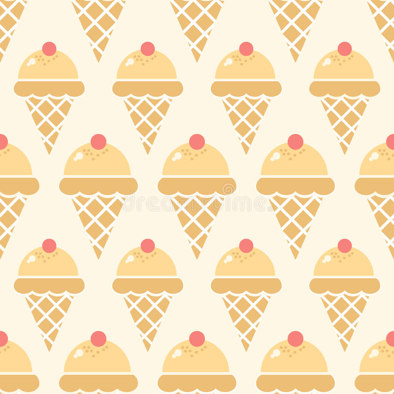 Ice Cream Background Stock Vector. Illustration Of Product