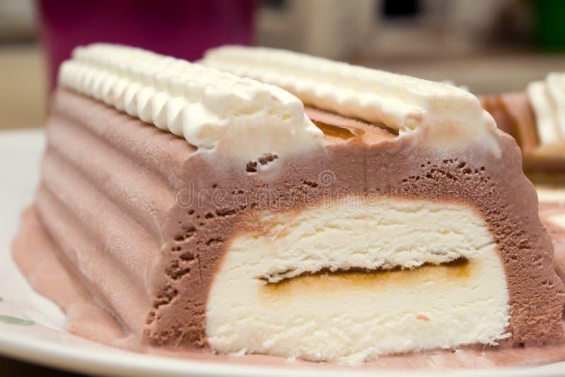 Download Ice-cream chocolate cake stock image. Image of consume - 1278271