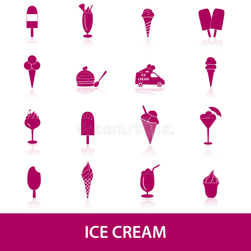 Download Ice cream icons eps10 stock vector. Illustration of shop - 40230870