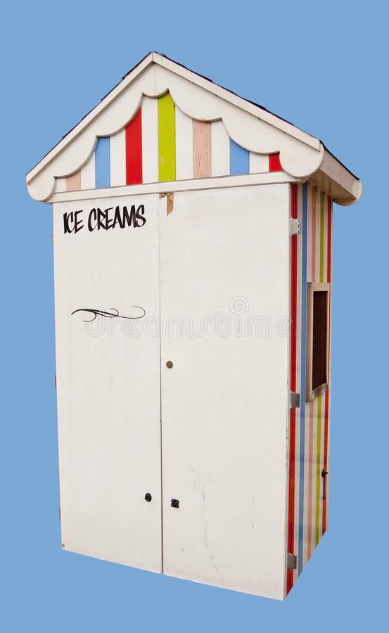 Download Ice cream kiosk stock photo. Image of cream, wooden, timber - 23319420