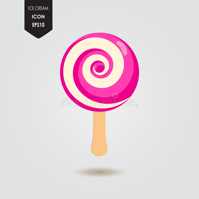 Download Ice cream lolly stock vector. Illustration of caramel - 94870949