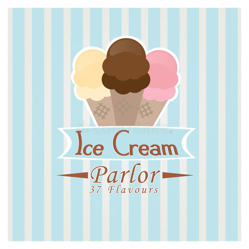 Download Ice Cream Parlor stock vector. Image of chocolate, strawberry - 17430137