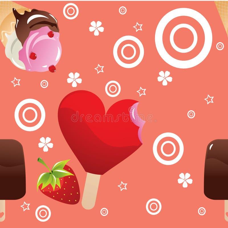 Download Ice cream pattern stock vector. Illustration of illustration - 27080663