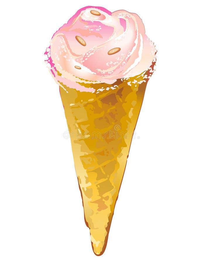 Ice Cream Pink Royalty Free Stock Photo