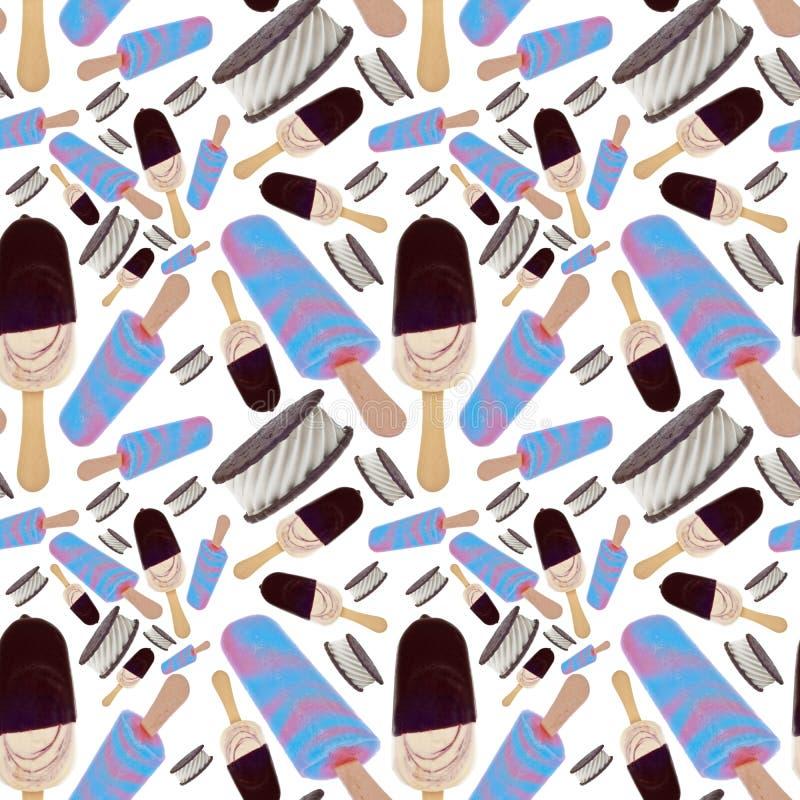 Download Ice Cream Seamless Background Stock Photo - Image: 20450950