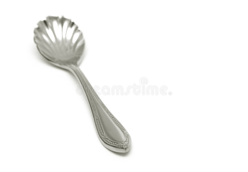 Ice-Cream Spoon royalty free stock images