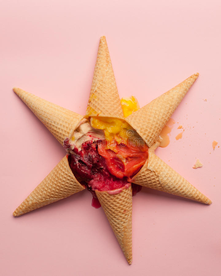 Download Ice-Cream Star Royalty Free Stock Photography - Image: 34863687