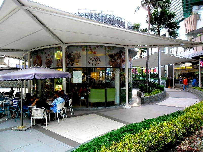 Ice Cream store in Robinson's Place Magnolia Residences Mall. Photo of an Ice Cream store in Robinson's Place Magnolia Residences Mall in Quezon City stock photo
