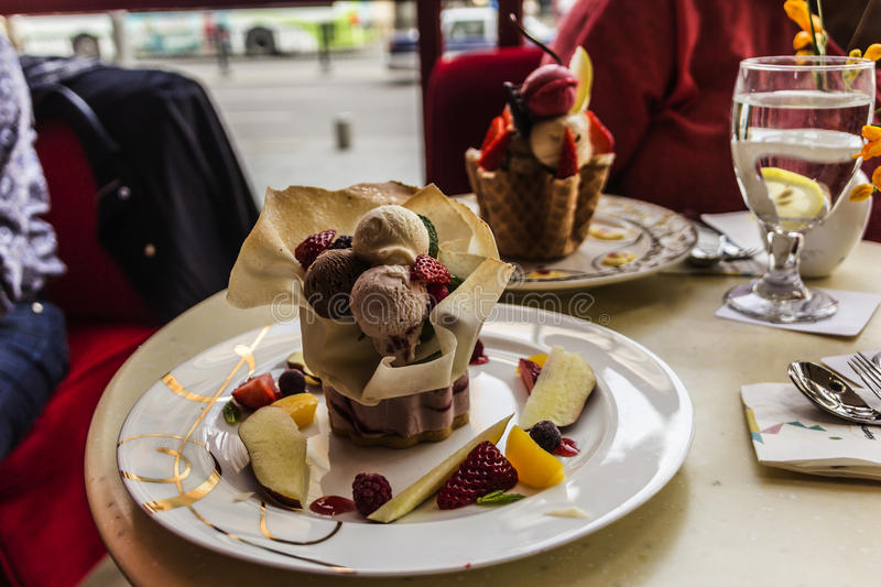 Download Ice Cream Sundae Stock Photo - Image: 53971007