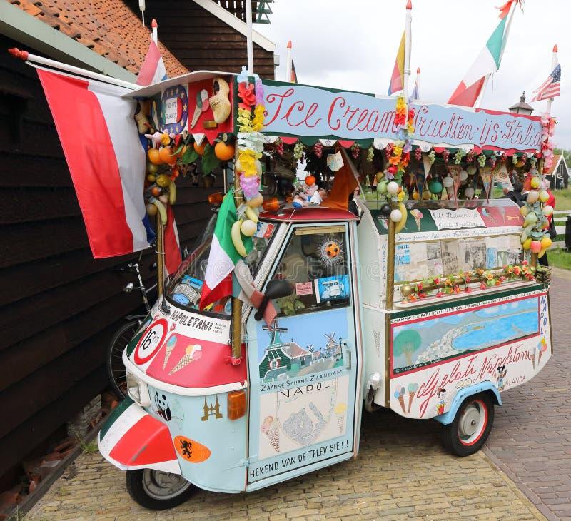 Download Ice Cream Van editorial photo. Image of cream, holland - 25217941