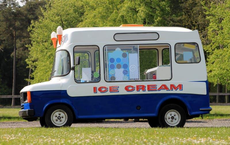 Ice cream van stock photography