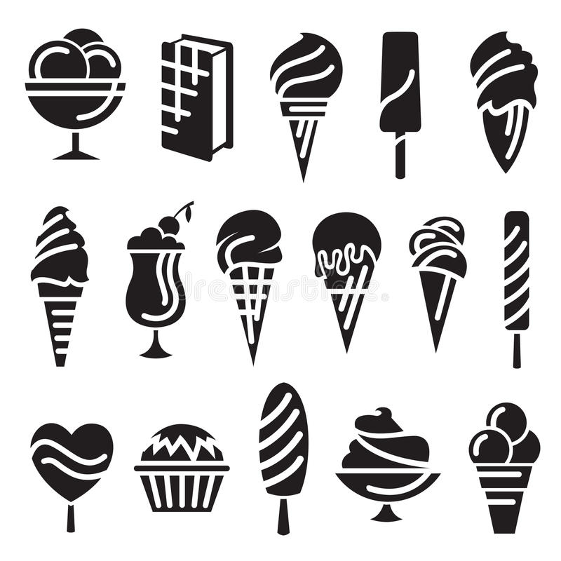 Download Ice Creams Set Stock Photography - Image: 28450782
