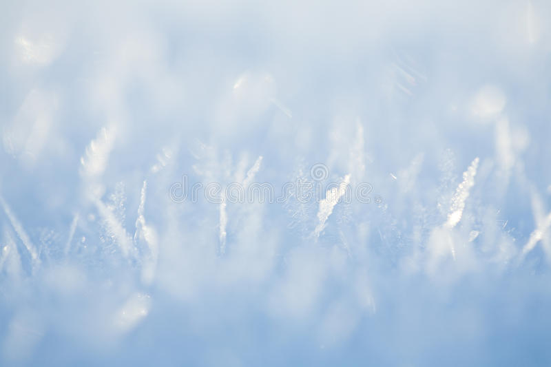 Ice crystals royalty free stock image