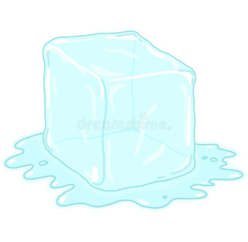 Download Ice cube illustration stock illustration. Illustration of water - 21266389