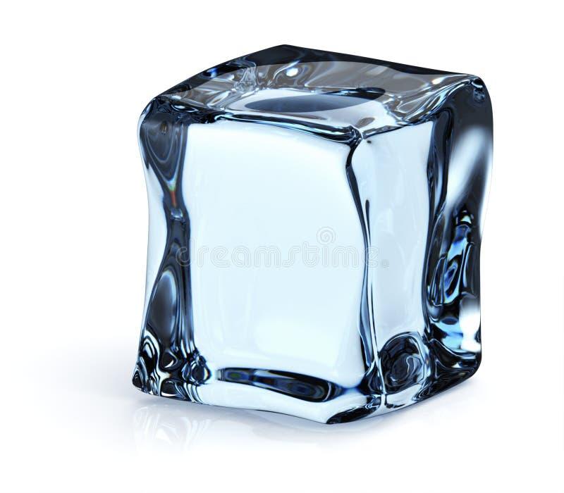 Download Ice cube stock illustration. Image of freshness, reflection - 24297445