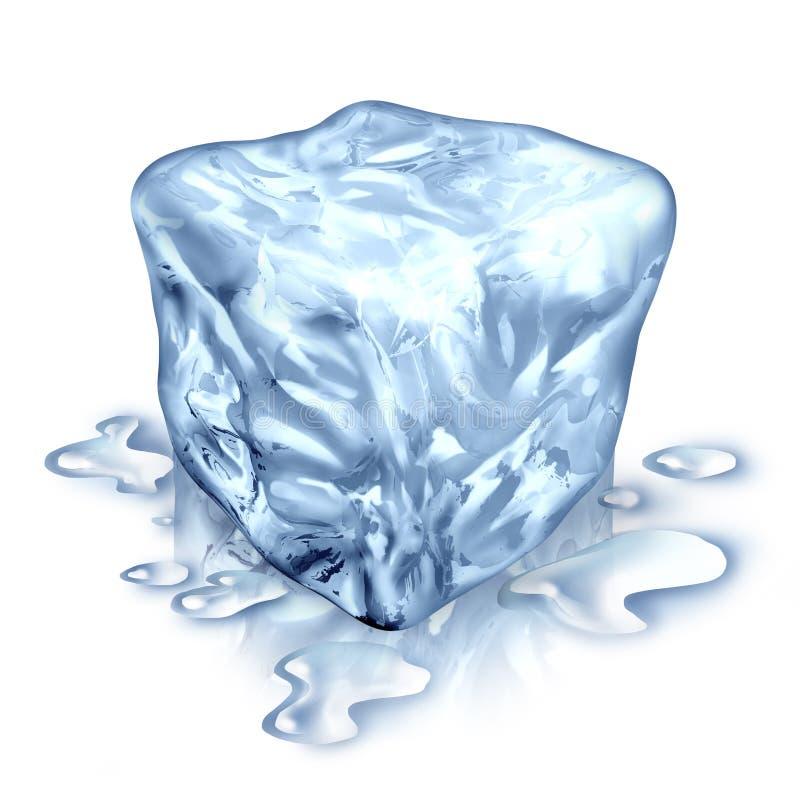 Download Ice Cube stock illustration. Image of heat, three, white - 25375945