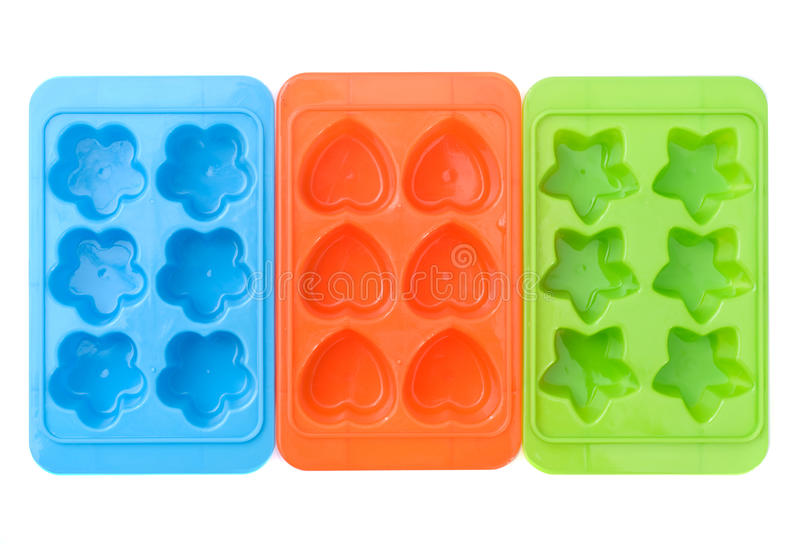 Ice cube container stock image