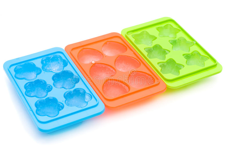 Ice cube container stock photos