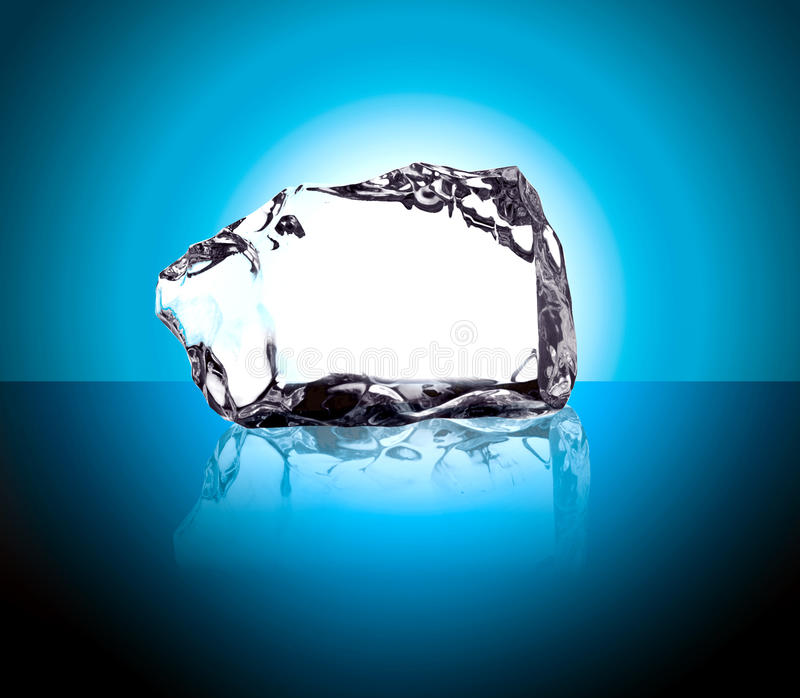 Ice cube royalty free stock images