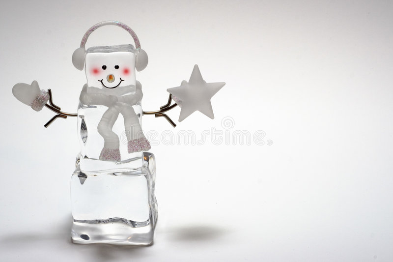 Download Ice Cube Snowman stock photo. Image of smile, decoration - 474662