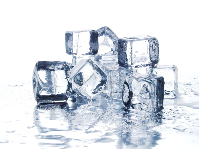 Download Ice cubes stock image. Image of reflect, cool, cube, melt - 1171469