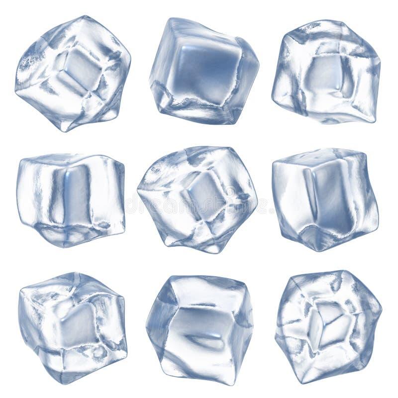 Free Ice Cubes Royalty Free Stock Photo - 26477145