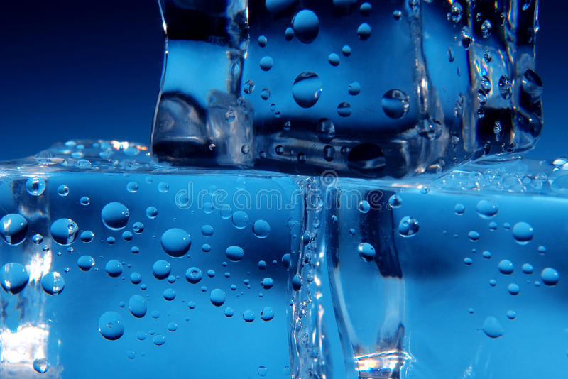 Download Ice cubes stock image. Image of up, drops, bricks, cube - 26645335