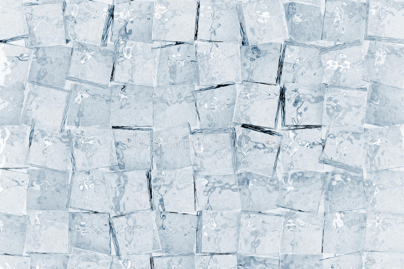 Ice cubes stock illustration