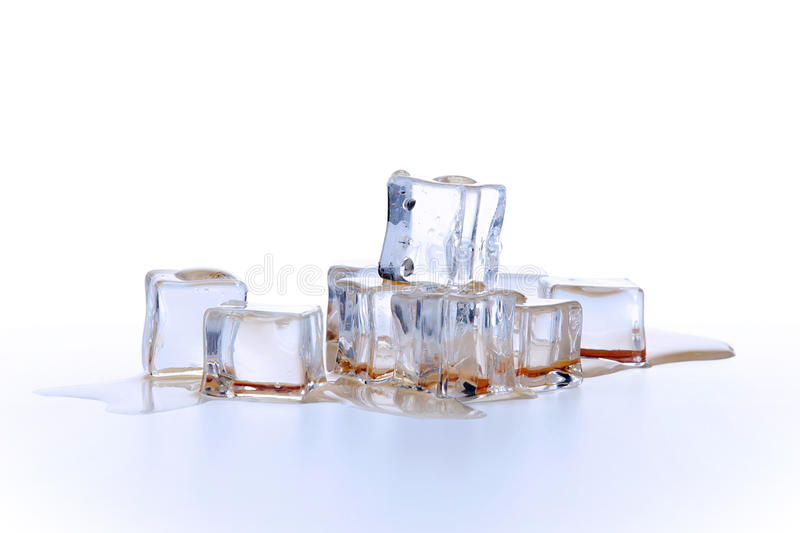 Download Ice cubes in liquid stock photo. Image of particles, chilly - 27555596