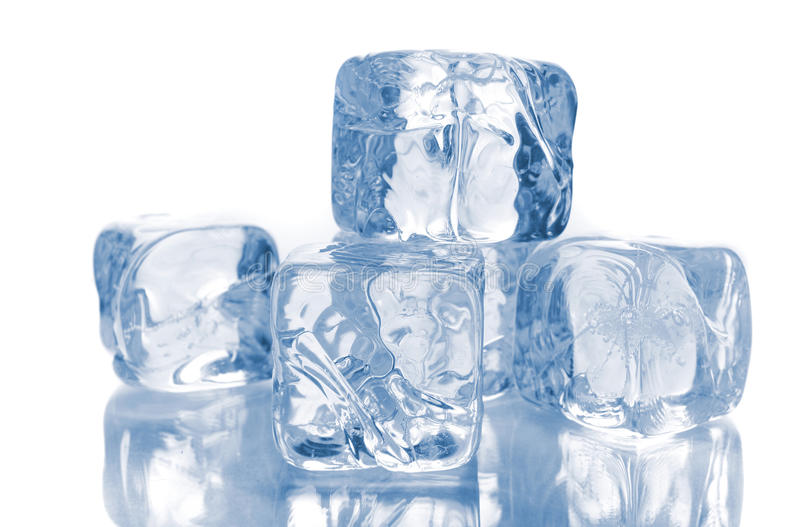 Download Ice Cubes on White stock image. Image of cubes, melting - 9722923