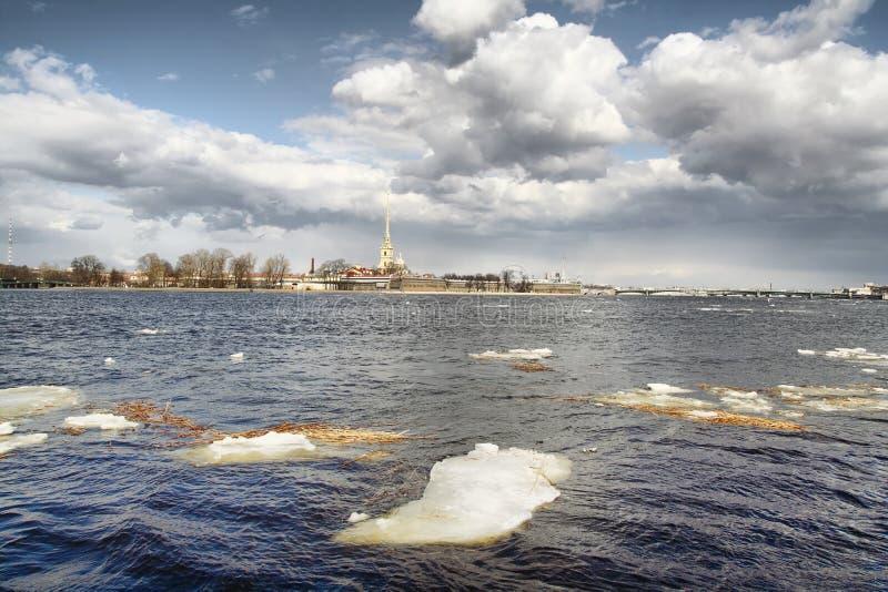 Download Ice Drift On Neva River Royalty Free Stock Photo - Image: 14161835