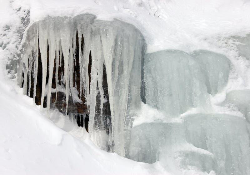 Ice Falls Stock Photo